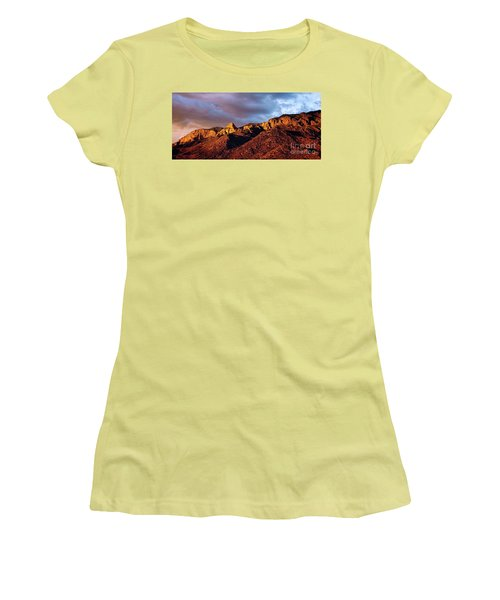 Women's T-Shirt (Junior Cut) featuring the photograph Sandia Beauty by Gina Savage