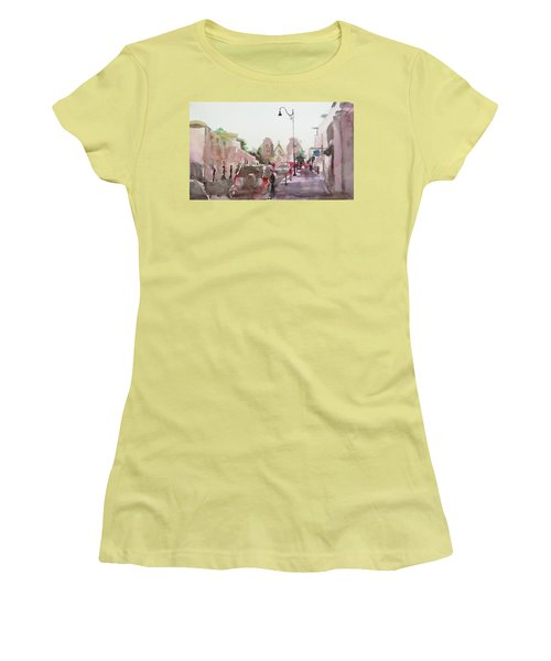 Sanfransisco Street Women's T-Shirt (Athletic Fit)