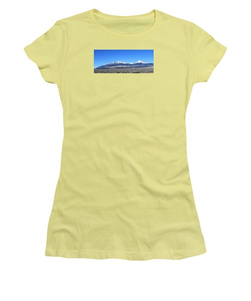 Sangre De Cristo Range Women's T-Shirt (Athletic Fit)