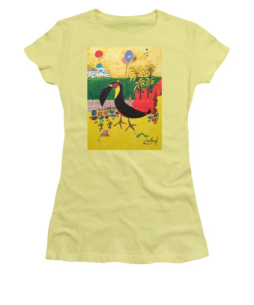 Santorini-esque Women's T-Shirt (Athletic Fit)