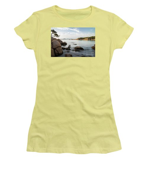 Sardinian Coast Women's T-Shirt (Junior Cut) by Yuri Santin