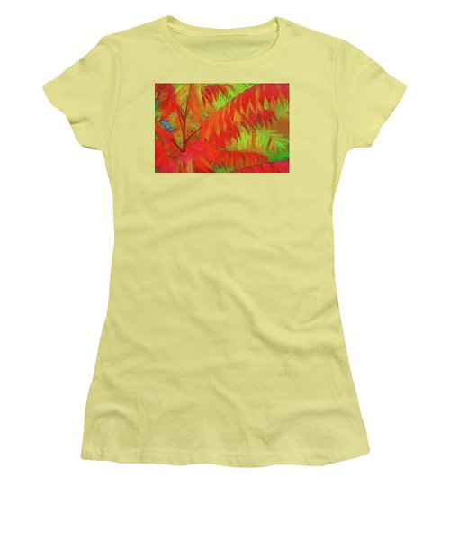 Sassyfras Women's T-Shirt (Junior Cut) by Terry Cork