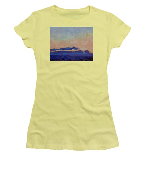 Saturday Stratocumulus Sunset Women's T-Shirt (Athletic Fit)