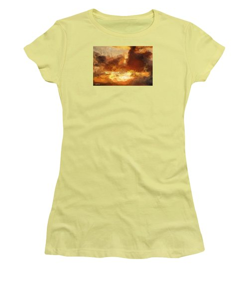 Saulriets Women's T-Shirt (Junior Cut) by Greg Collins