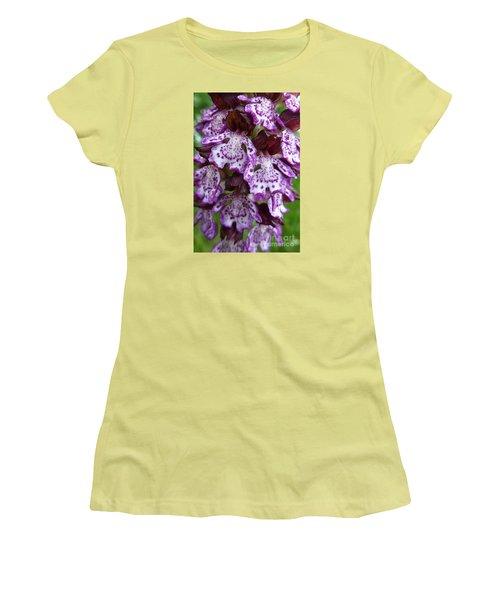 Savage Orchid 2 Women's T-Shirt (Junior Cut) by Jean Bernard Roussilhe