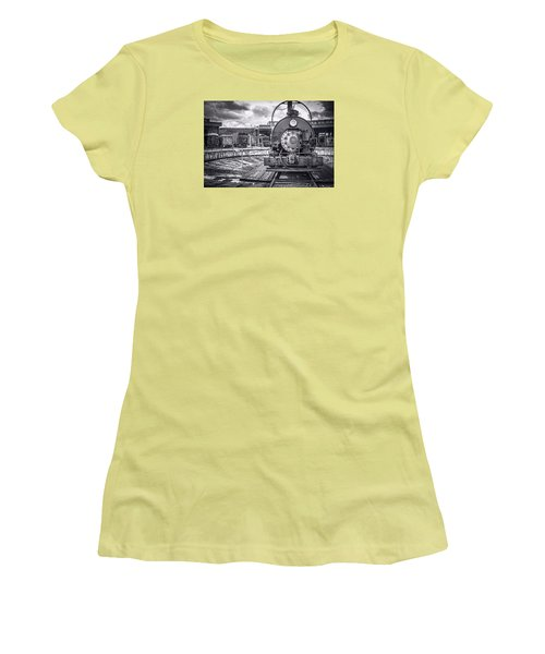 Savannah Central Train Yard Women's T-Shirt (Junior Cut) by Scott Hansen