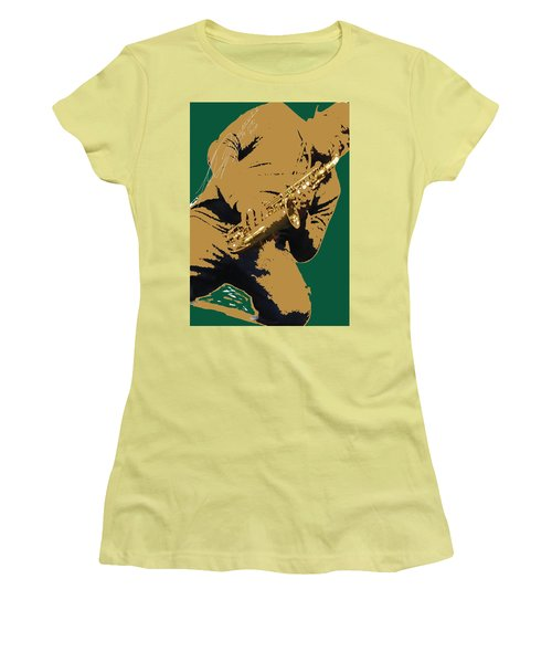 Saxual Passion Women's T-Shirt (Athletic Fit)