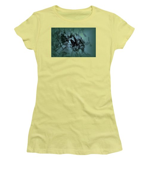 Scattered Shadows Women's T-Shirt (Athletic Fit)