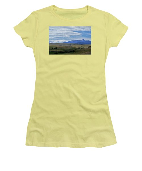 Scenery Women's T-Shirt (Athletic Fit)