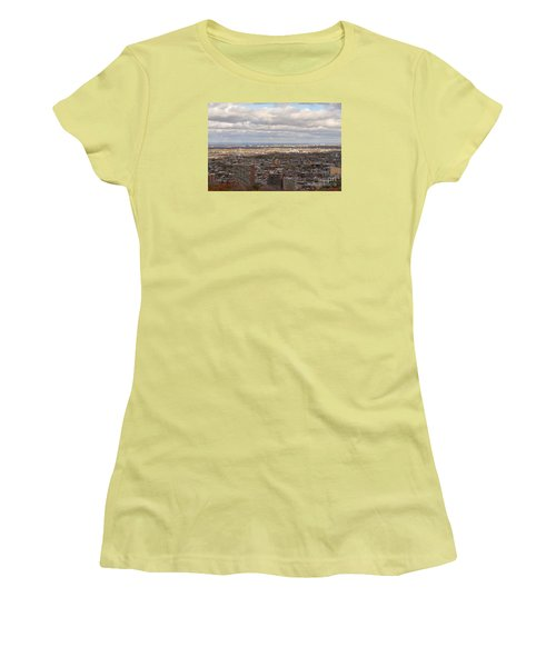 Scenic View Of Montreal Women's T-Shirt (Junior Cut) by Reb Frost