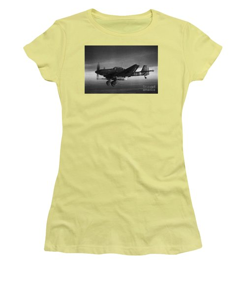 Ju87g-2 Kanonenvogel Women's T-Shirt (Athletic Fit)