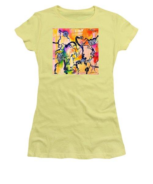 Schlieren Chiarascuro Women's T-Shirt (Athletic Fit)