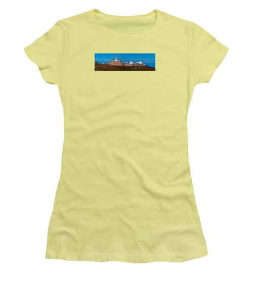 Science City Women's T-Shirt (Athletic Fit)