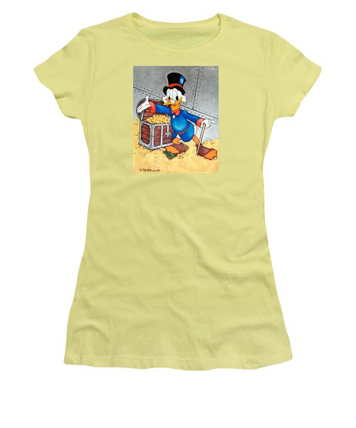 Scrooge Mcduck  Women's T-Shirt (Athletic Fit)