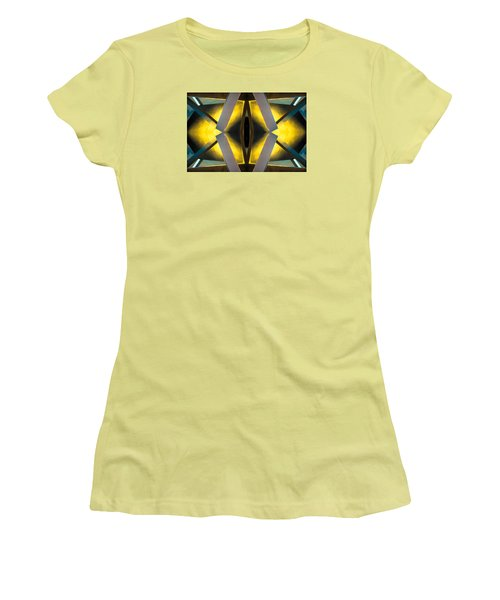 Sculpture On Southport N66v1 Women's T-Shirt (Junior Cut) by Raymond Kunst