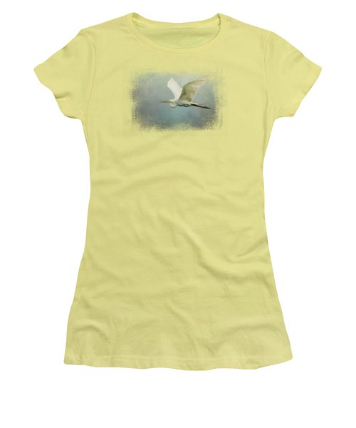 Sea Flight Women's T-Shirt (Junior Cut) by Jai Johnson