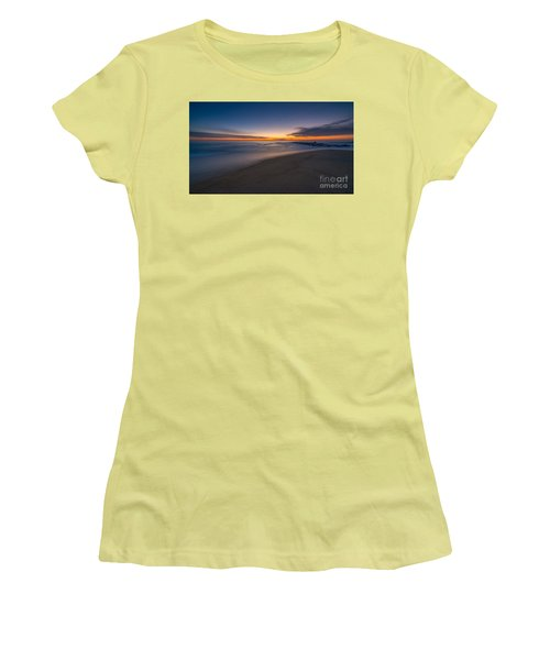 Sea Girt Sunrise New Jersey  Women's T-Shirt (Athletic Fit)