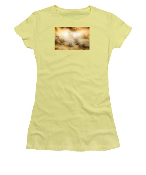 Sea Oats In Paradise Women's T-Shirt (Junior Cut) by Dan Carmichael
