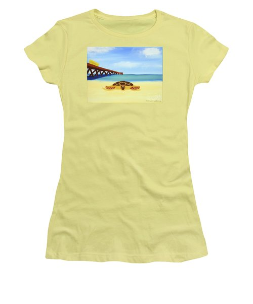 Sea Turtle Women's T-Shirt (Athletic Fit)
