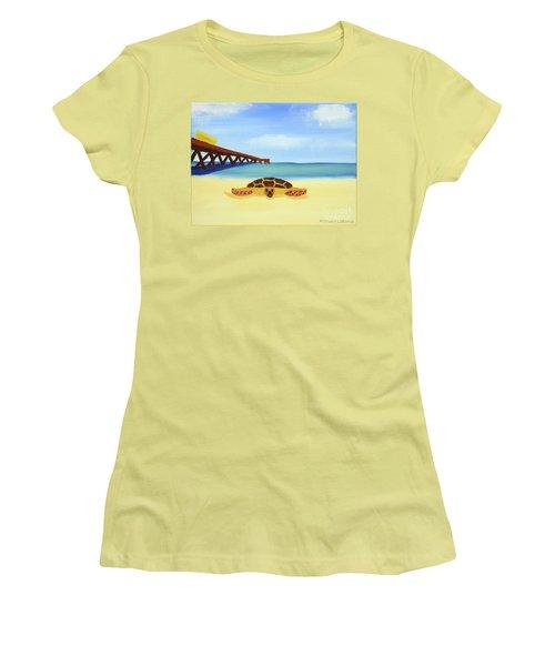 Sea Turtle Women's T-Shirt (Athletic Fit)