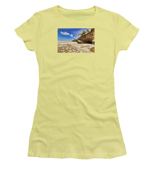 Sea Waves Women's T-Shirt (Athletic Fit)