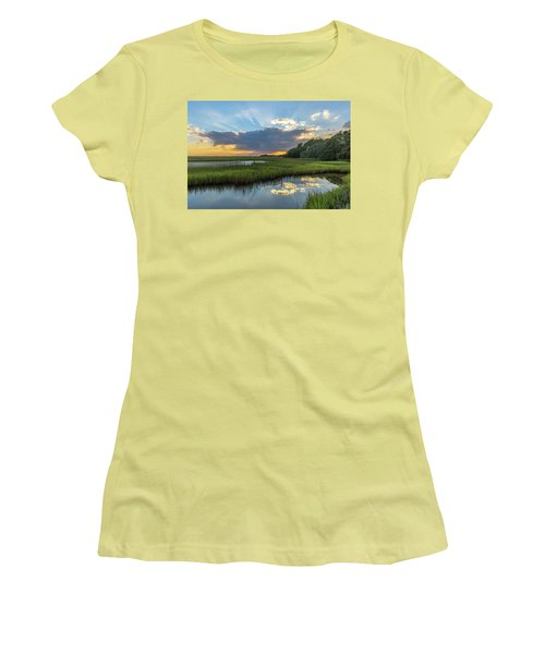 Seabrook Island Sunrays Women's T-Shirt (Athletic Fit)