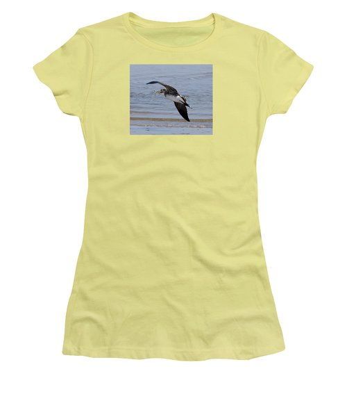 Seagull With Shrimp Women's T-Shirt (Athletic Fit)