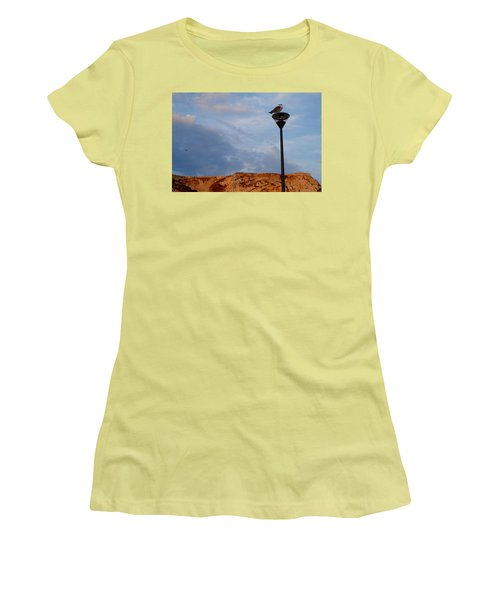 Seagull's Post Women's T-Shirt (Athletic Fit)