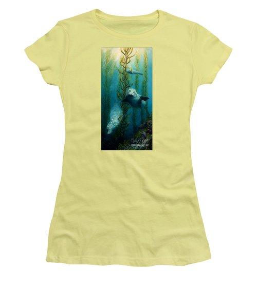 Seals Of The Sea Women's T-Shirt (Athletic Fit)