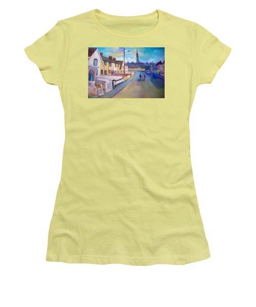 Sean Hueston Place Limerick Ireland Women's T-Shirt (Junior Cut) by Paul Weerasekera