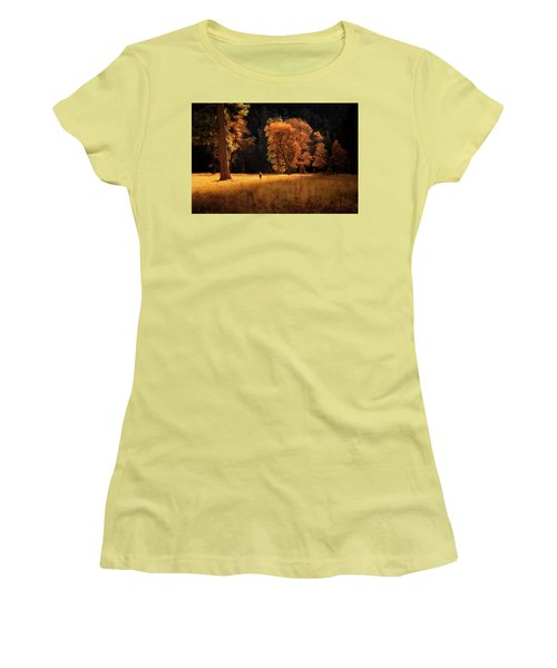 Searching For Light Women's T-Shirt (Junior Cut) by Nicki Frates