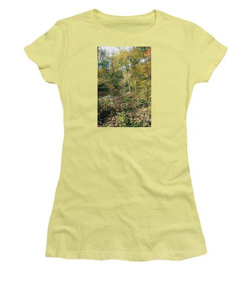 Season Of Change Women's T-Shirt (Junior Cut) by John Rivera