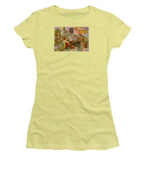 Secrets Women's T-Shirt (Junior Cut) by Mary Schiros
