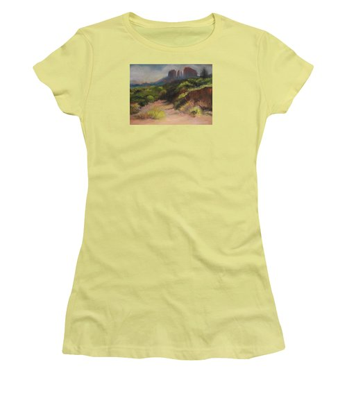 Sedona Pathway Women's T-Shirt (Athletic Fit)