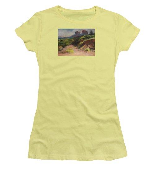 Sedona Pathway Women's T-Shirt (Junior Cut)