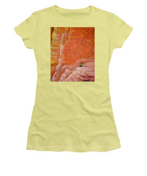 Sedona Rocks Women's T-Shirt (Athletic Fit)