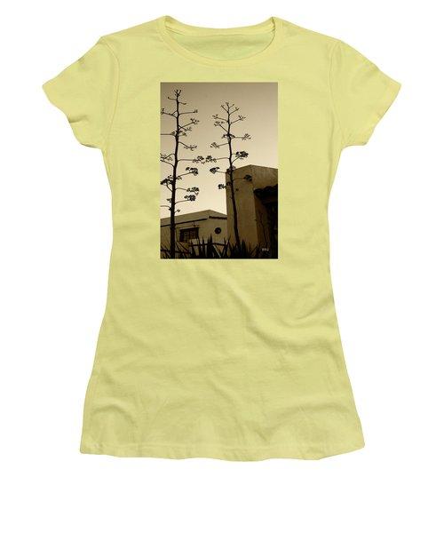 Sedona Series - Desert City Women's T-Shirt (Junior Cut) by Ben and Raisa Gertsberg