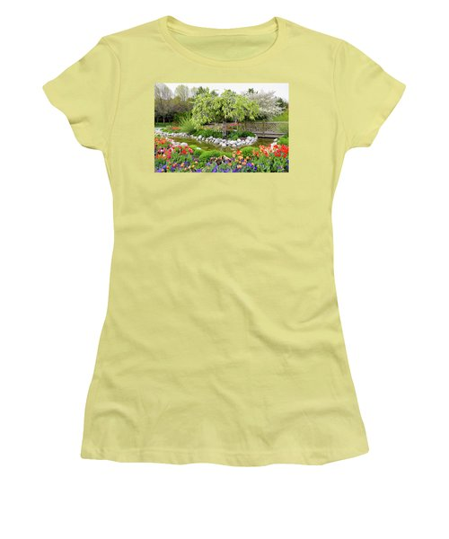 Women's T-Shirt (Junior Cut) featuring the photograph Seeing Beauty In All Things by James Steele