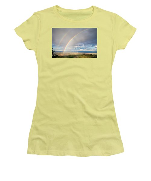 Seeing Double Women's T-Shirt (Junior Cut) by Alexey Stiop