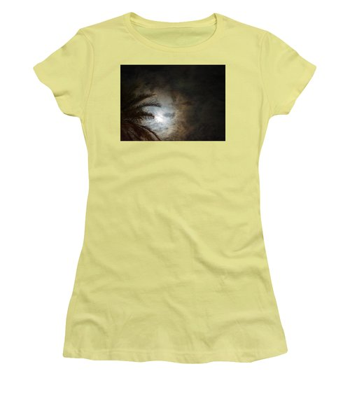 Women's T-Shirt (Junior Cut) featuring the photograph Seeing Heaven  by Carolina Liechtenstein