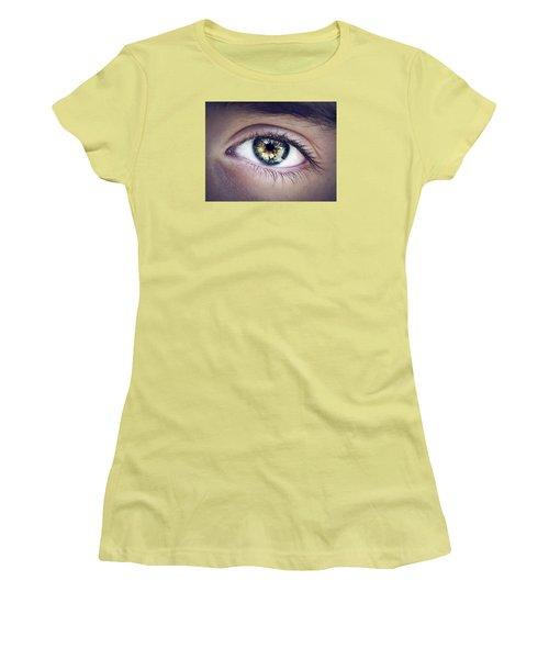Seeing Women's T-Shirt (Junior Cut) by Scott Meyer