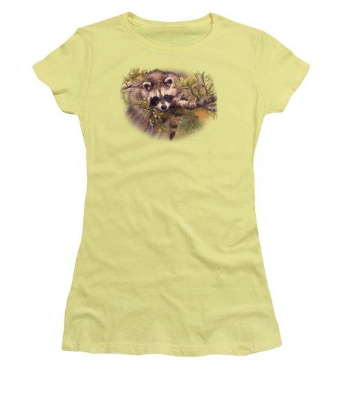 Seeking Mischief Women's T-Shirt (Junior Cut) by Lucie Bilodeau