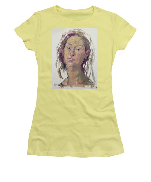 Self Portrait 1602 Women's T-Shirt (Athletic Fit)