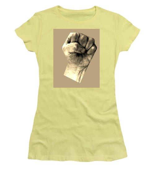 Self Portrait Too Women's T-Shirt (Junior Cut) by Cletis Stump