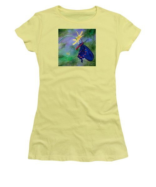 Semperi Swallowtail Butterfly Women's T-Shirt (Athletic Fit)