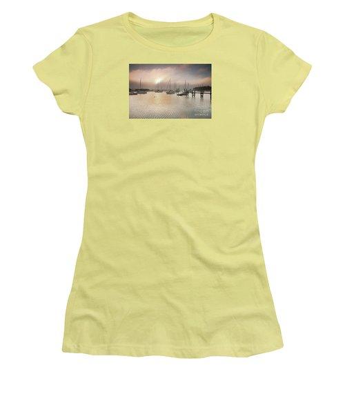 September Fog Women's T-Shirt (Junior Cut) by Butch Lombardi