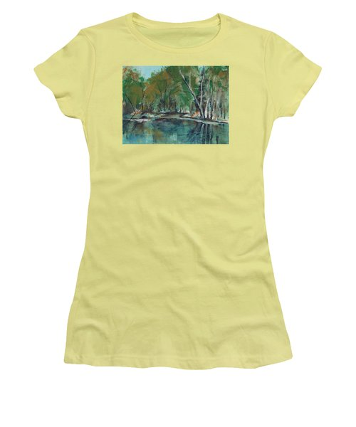 Serene Women's T-Shirt (Junior Cut) by Lee Beuther