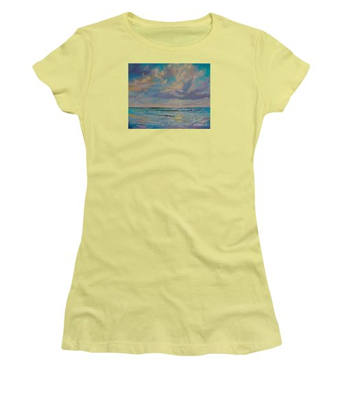 Serene Sea Women's T-Shirt (Athletic Fit)