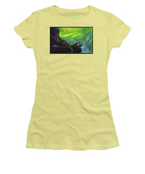 Serenity Women's T-Shirt (Junior Cut) by Jo Baner