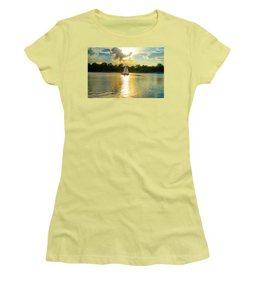 Serenity  Women's T-Shirt (Junior Cut) by Mary Ward